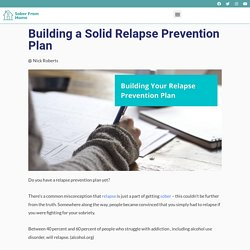 Building Your Relapse Prevention Plan