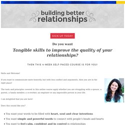 Building Better Relationships - Yvette Erasmus, PsyD. LP