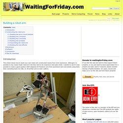 Building a robot arm