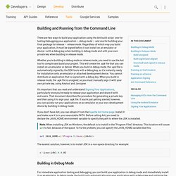 Building in Release mode