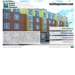 Building Science Corporation
