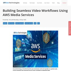 Building Seamless Video Workflows Using AWS Media Services