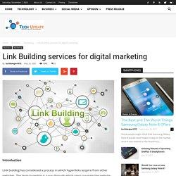 Link Building services for digital marketing