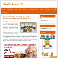 Crazy Bulk: Buy Crazy Bulk Body Building Steroids