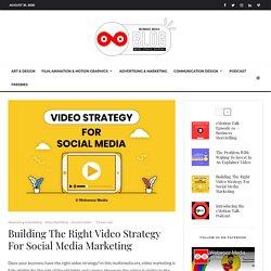 Building The Right Video Strategy For Social Media Marketing - Webwooz Media