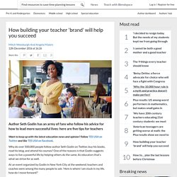 'How building your brand will help you succeed in the classroom'