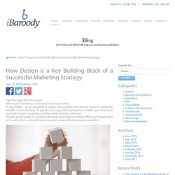 How Design is a Key Building Block of a Successful Marketing Strategy