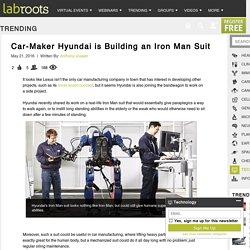 Car-Maker Hyundai is Building an Iron Man SuitTrending