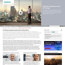 Desigo CC - Building Technologies - Siemens