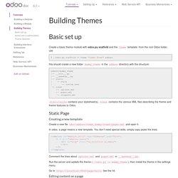 Building Themes — odoo 8.0 documentation