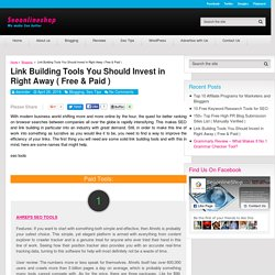 Link Building Tools You Should Invest in Right Away