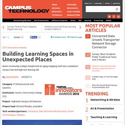 Building Learning Spaces in Unexpected Places