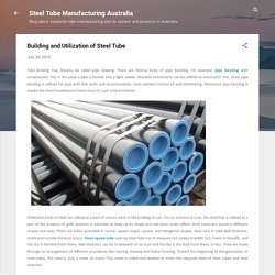 Building and Utilization of Steel Tube