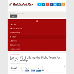 Red Rocket Ventures Blog (Startup Advisor & Growth Consulting)