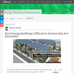 Things You Should Know About Zero Energy Buildings