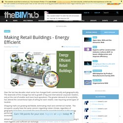 Making Retail Buildings - Energy Efficient