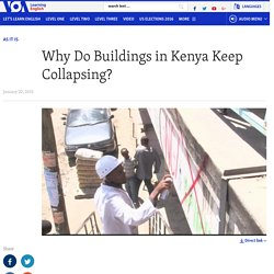 Why Do Buildings in Kenya Keep Collapsing?