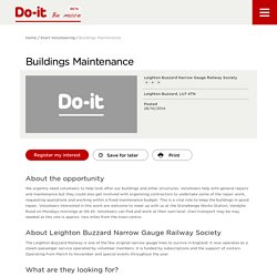 Buildings Maintenance - Do-It - Be More