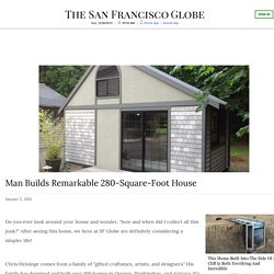 Man Builds Remarkable 280 Square Foot House