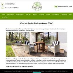 What Is a well-built Garden Studio or Garden Office?