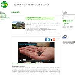 Semences buissonnières - film pédagogique sur la production de semences
