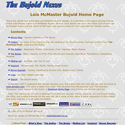 The Bujold Nexus - The Lois McMaster Bujold Homepage