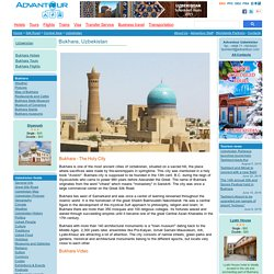 Bukhara - City Guide, Hotels and Tours in Bukhara