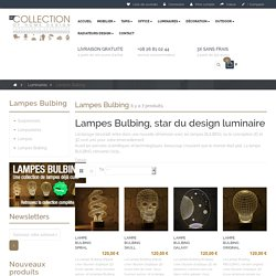 Les lampes Bulbing, star du design luminaire - ReCollection