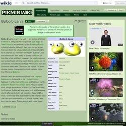 Bulborb Larva - Pikmin Wiki