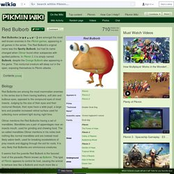 Red Bulborb - Pikmin Wiki