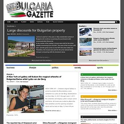 Bulgaria Gazette - News from Bulgaria