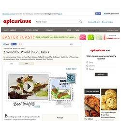 Korean Beef Bulgogi Recipe, Video, and Cooking Tips at Epicurious.com