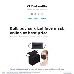 Bulk buy surgical face mask online at best price