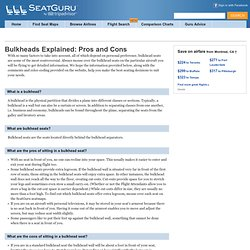 Bulkheads Explained: Pros and Cons