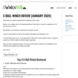X Bull Winch Reviews (January 2020)