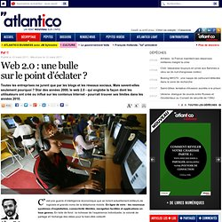 Web 2.0 : une bulle sur le point d??clater ?