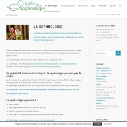 Bulle de Sophrologie