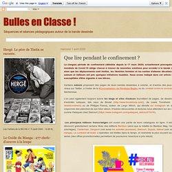 Bulles en Classe !: Que lire pendant le confinement ?