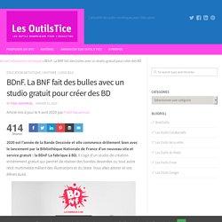 BDnF. La BNF fait des bulles avec un studio gratuit pour créer des BD