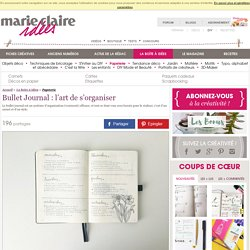Bullet Journal : l'art de s'organiser