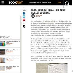 Bullet Journal Ideas for Books
