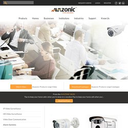 CCTV Bullet Camera, HD Video Surveillance - Avazonic