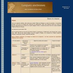 Bulletin des langues anciennes dans l'académie de Nancy-Metz