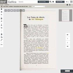 Jean Giono : bulletin / Association des amis de Jean Giono