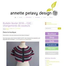 Bulletin février 2016 – C2C : changements de couleurs