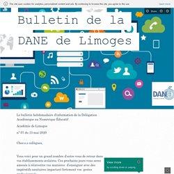 Bulletin de la DANE de Limoges