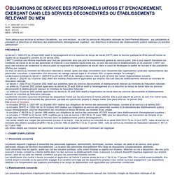 Décret n° 2000-815 du 25/08/2000 Aménagement et réduction du temps de travail (ARTT) dans la fonction publique de l'État - Bulletin officiel de l'éducation nationale spécial n°4 du 7 février 2002