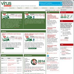 Virus Bulletin : Independent Malware Advice