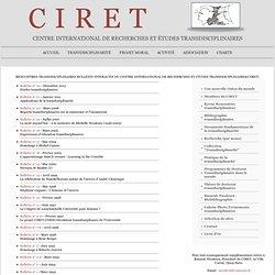 Bulletin interactif du CIRET