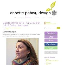 Bulletin janvier 2016 – C2C, ou d'un coin à l'autre : les bases